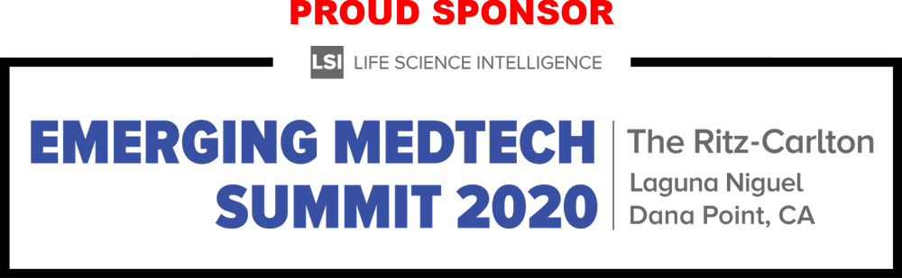 EMERGING MEDTECH SUMMIT 2020