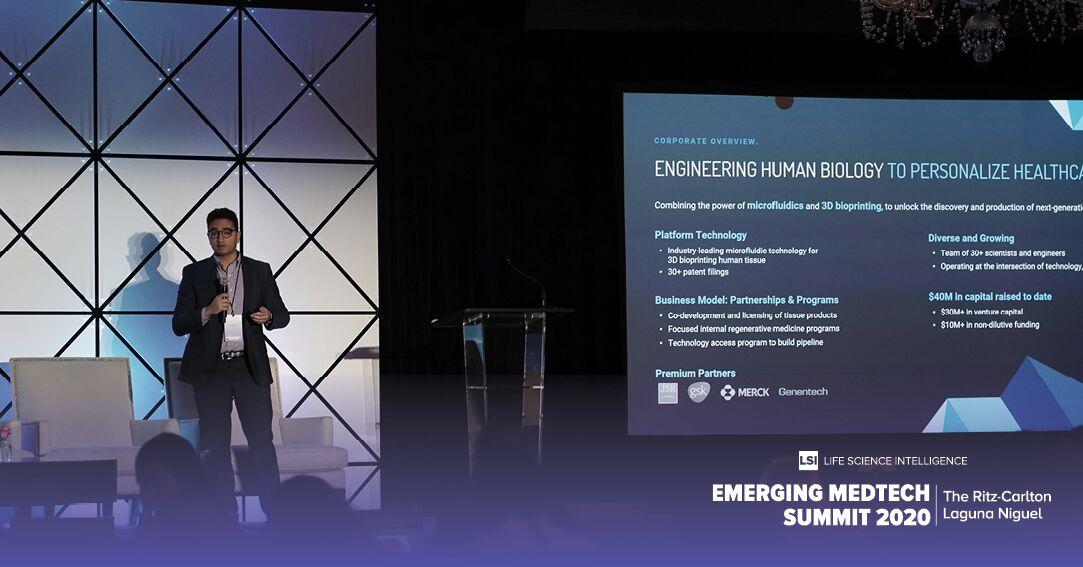 Aspect Biosystems CEO Tamer Mohamed