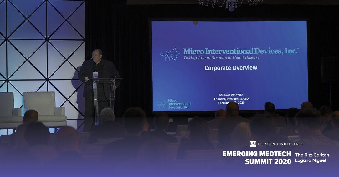 Micro Interventional Devices CEO Michael Whitman