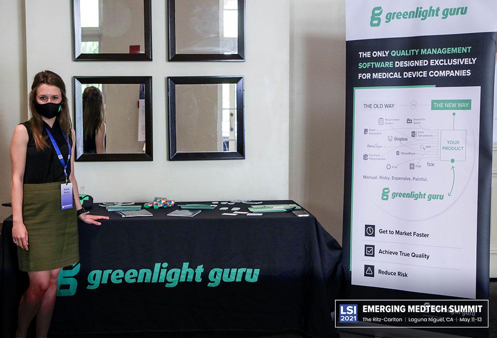 Greenlight Guru Booth