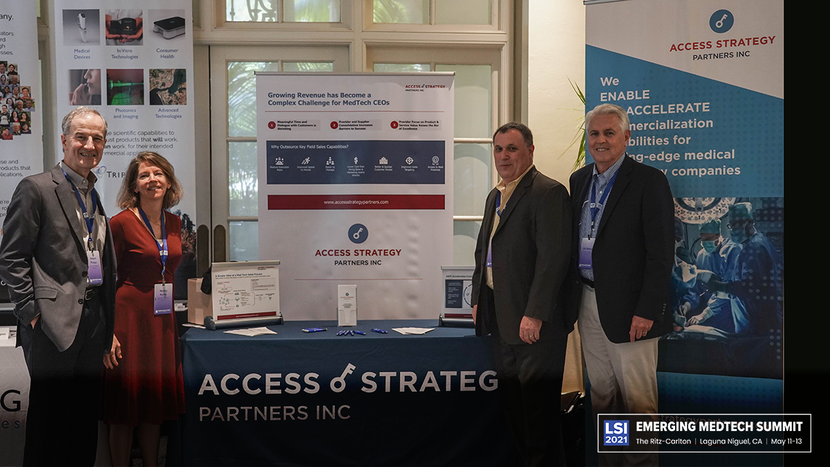 Access Strategy Partners Inc. Booth
