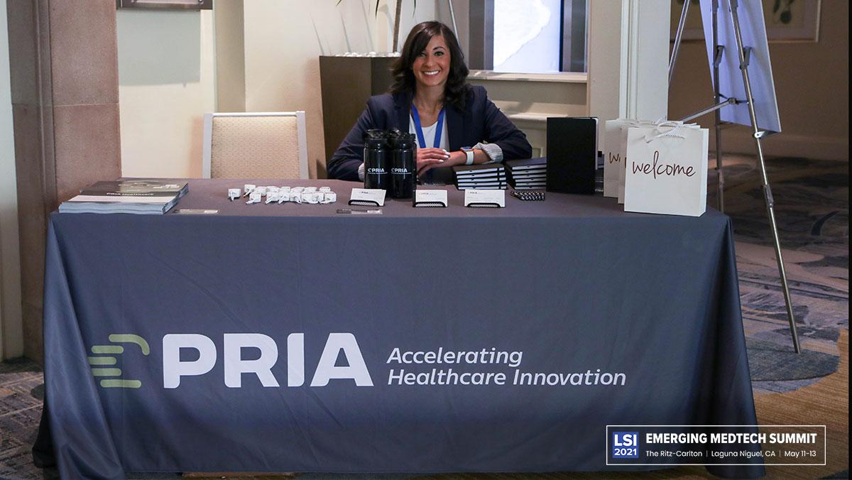 PRIA Healthcare Booth