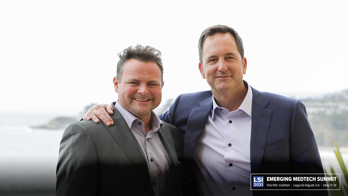 Tom Keating (PRIA) & Scott Pantel (LSI)