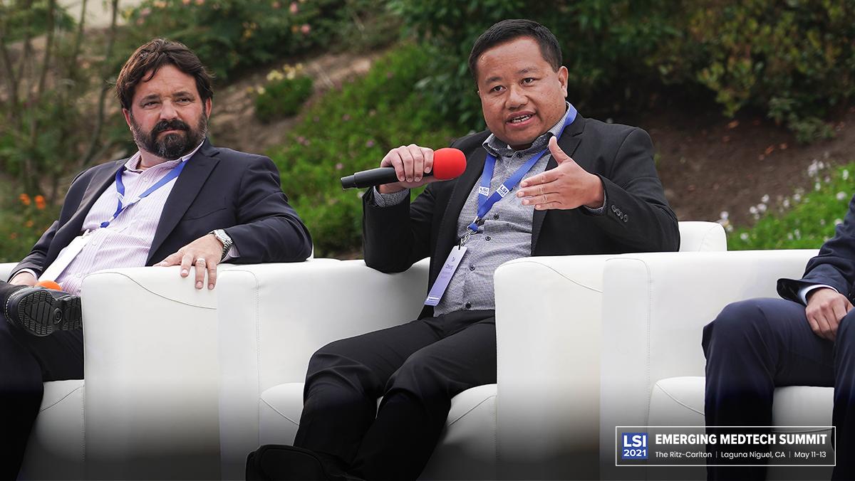 Greg Madden (SV Health Investors) & Tak Cheung (New Enterprise Associates)