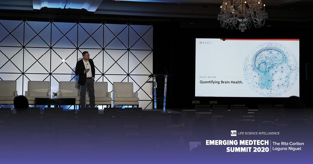 REACT Neuro CEO Shahid Azim