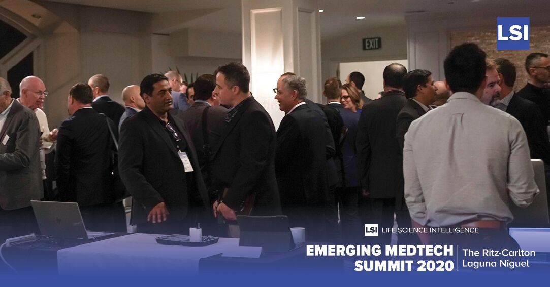 More Networking Prior to Fireside Chat with Dr. Manny Villafana (Founder St. Jude, ATS, Cardiac Pacemakers)