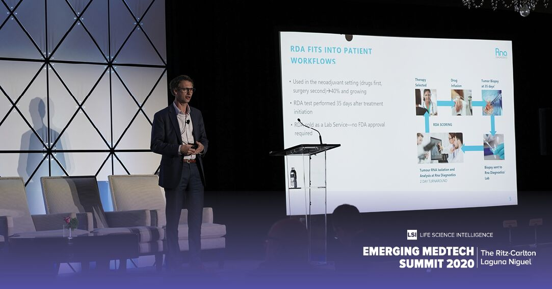 Rna Diagnostics CEO Jeremy Bridge-Cook