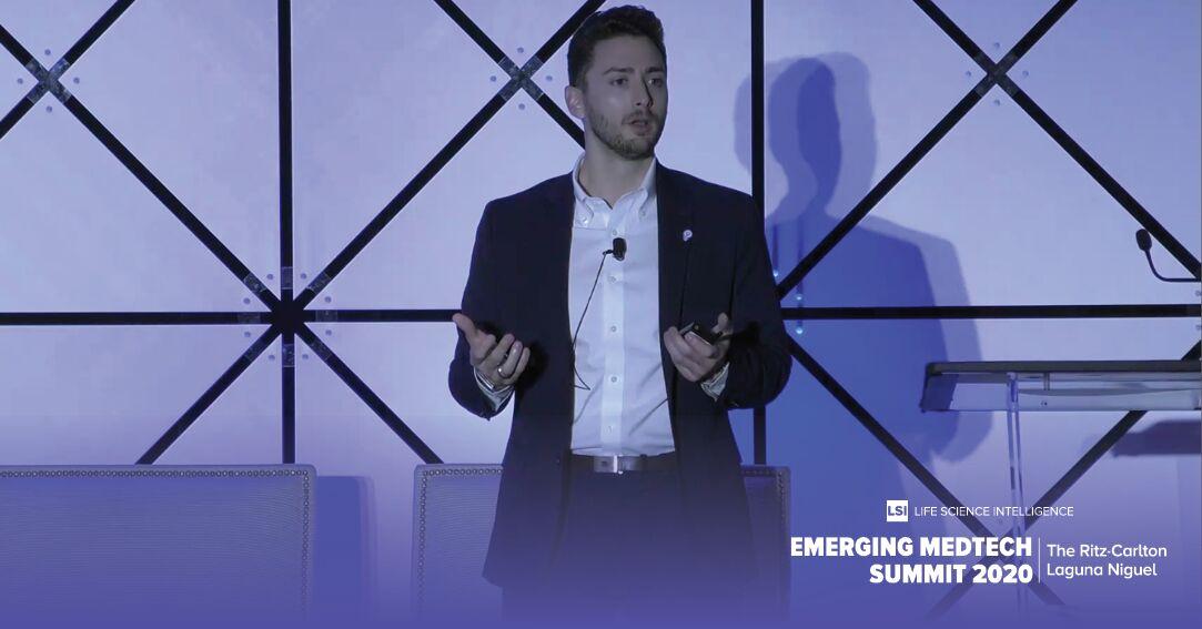 Strados Labs CEO Nick Delmonico