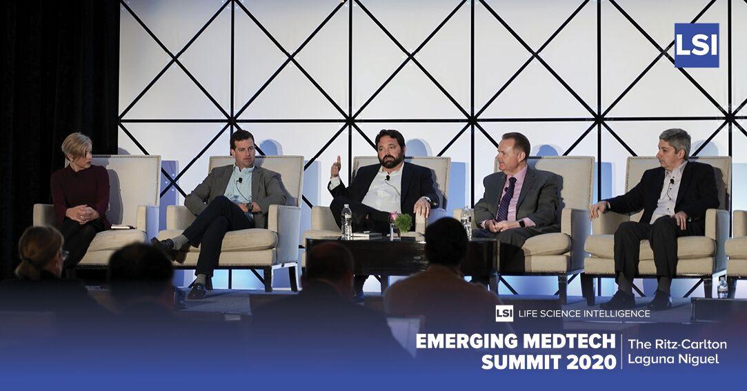 Innovation Panel: Lisa Carmel (Ximedica), Noam Krantz (J&J), Greg Madden (SV Health Investors), Stephen Ralph (Gore), Michael Pereira (Ximedica)