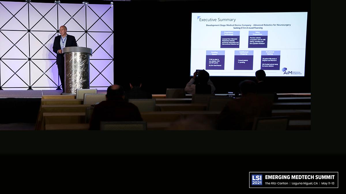 Bob Cathcart, CEO of AiM Medical Robotics