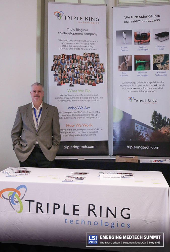 Triple Ring Technologies Booth